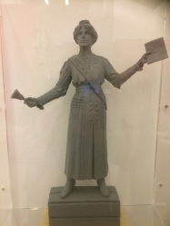Model for Annie Kenney statue