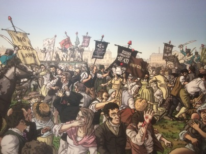 From Waterloo to Peterloo