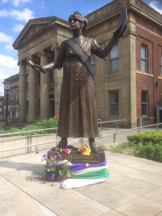 Annie Kenney statue