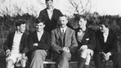 Turing boarded at Sherborne School in Dorset from the age of 13